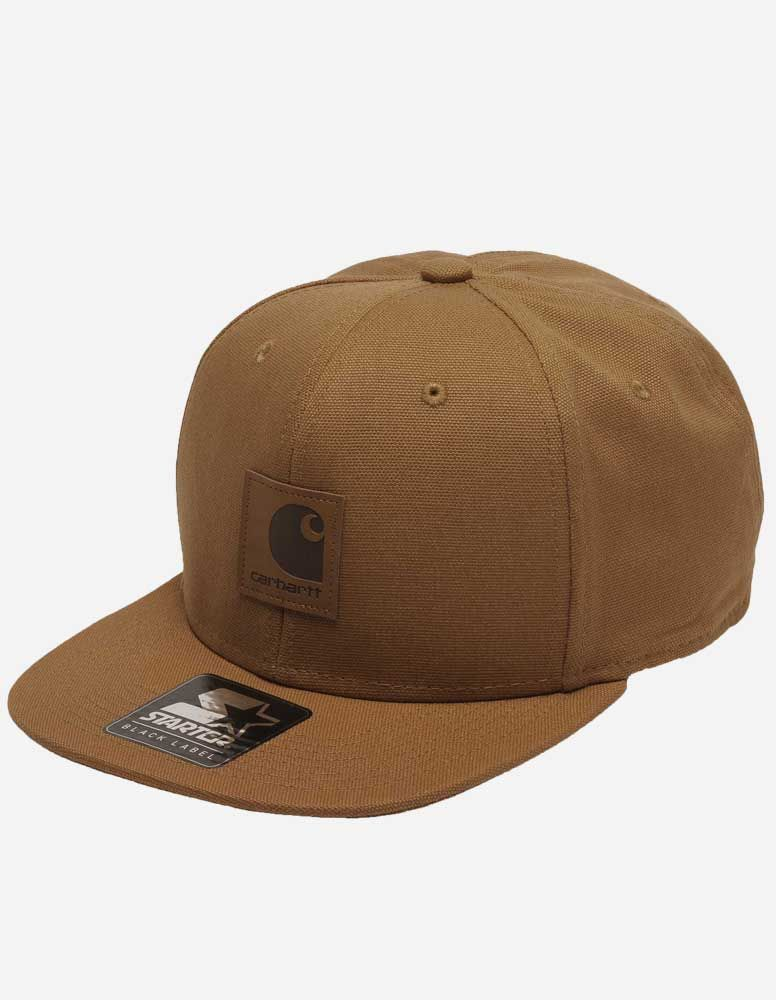 18e1c45e55620 carhartt cap braun Carhartt WIP - Logo Starter Cap hamilton brown