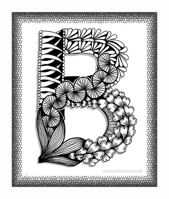 art, b, black, doodle, drawing, illustration, letter