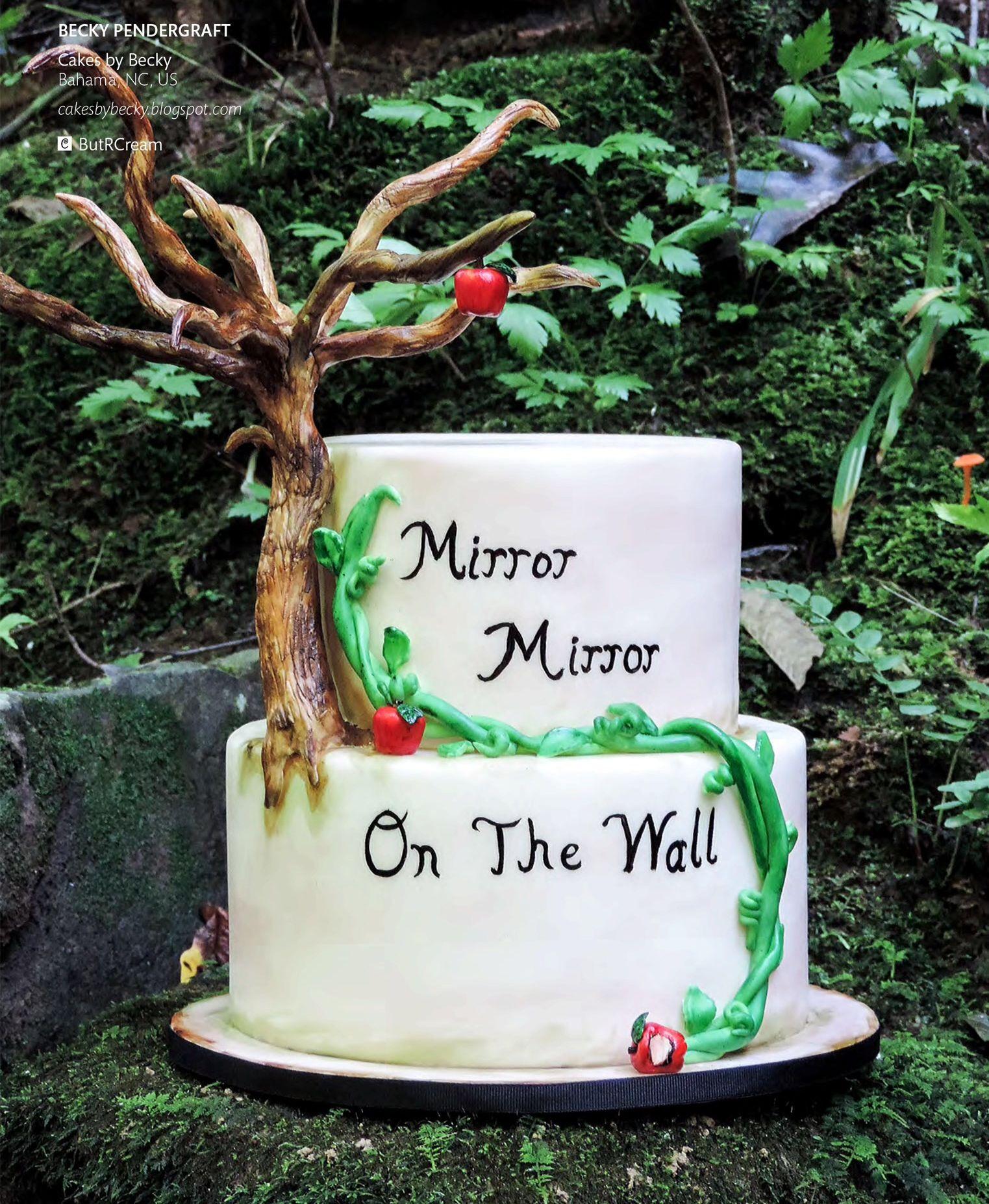 Snow White Fairytale Cake   Cake Central Magazine   Volume 4 Issue 10 - October 2013
