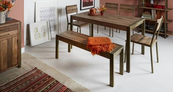 Barclay Medium Fixed Top Dining Table