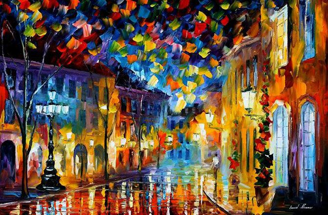 Magnificent Oil Paintings by Leonid Afremov. Part 2 - AmO Images - AmO Images