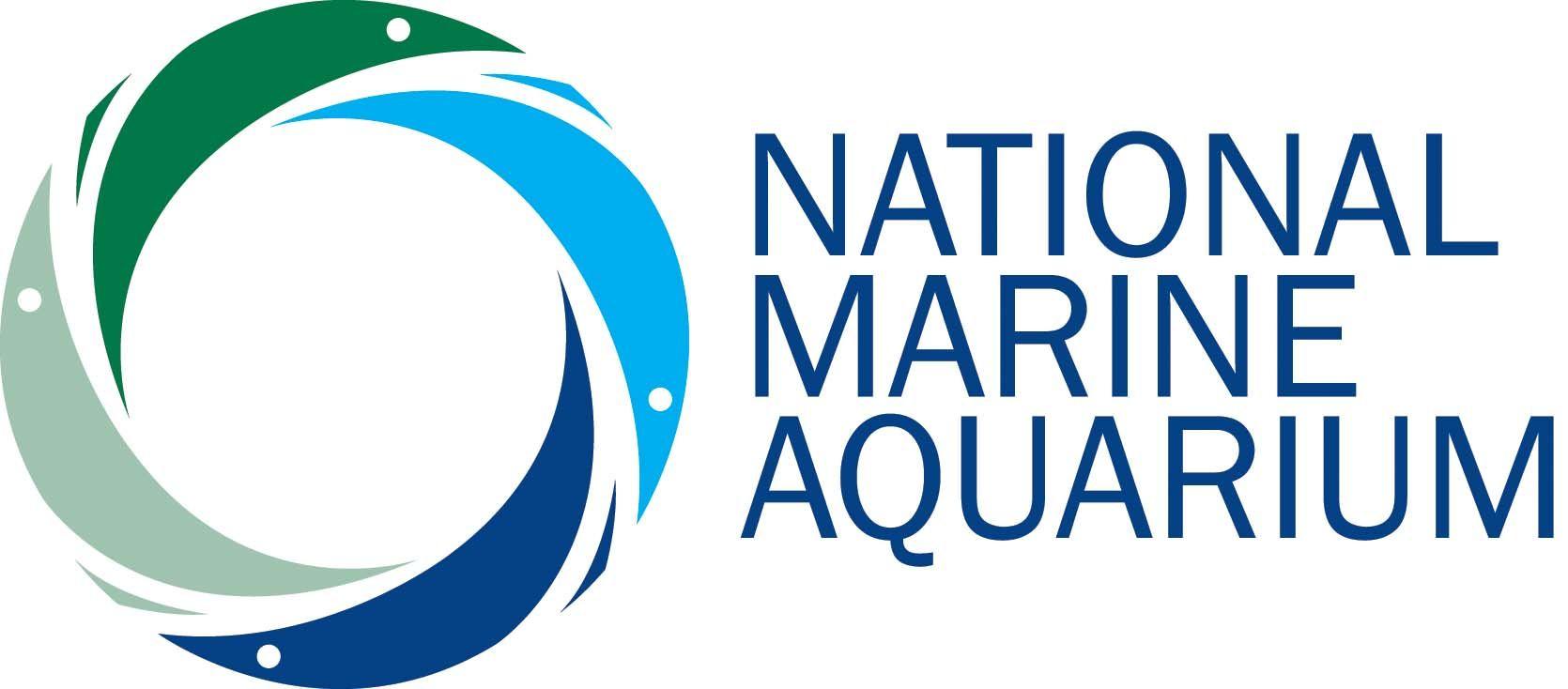 National Marine Aquarium Plymouth Logo Graphics Design Dave Gibson