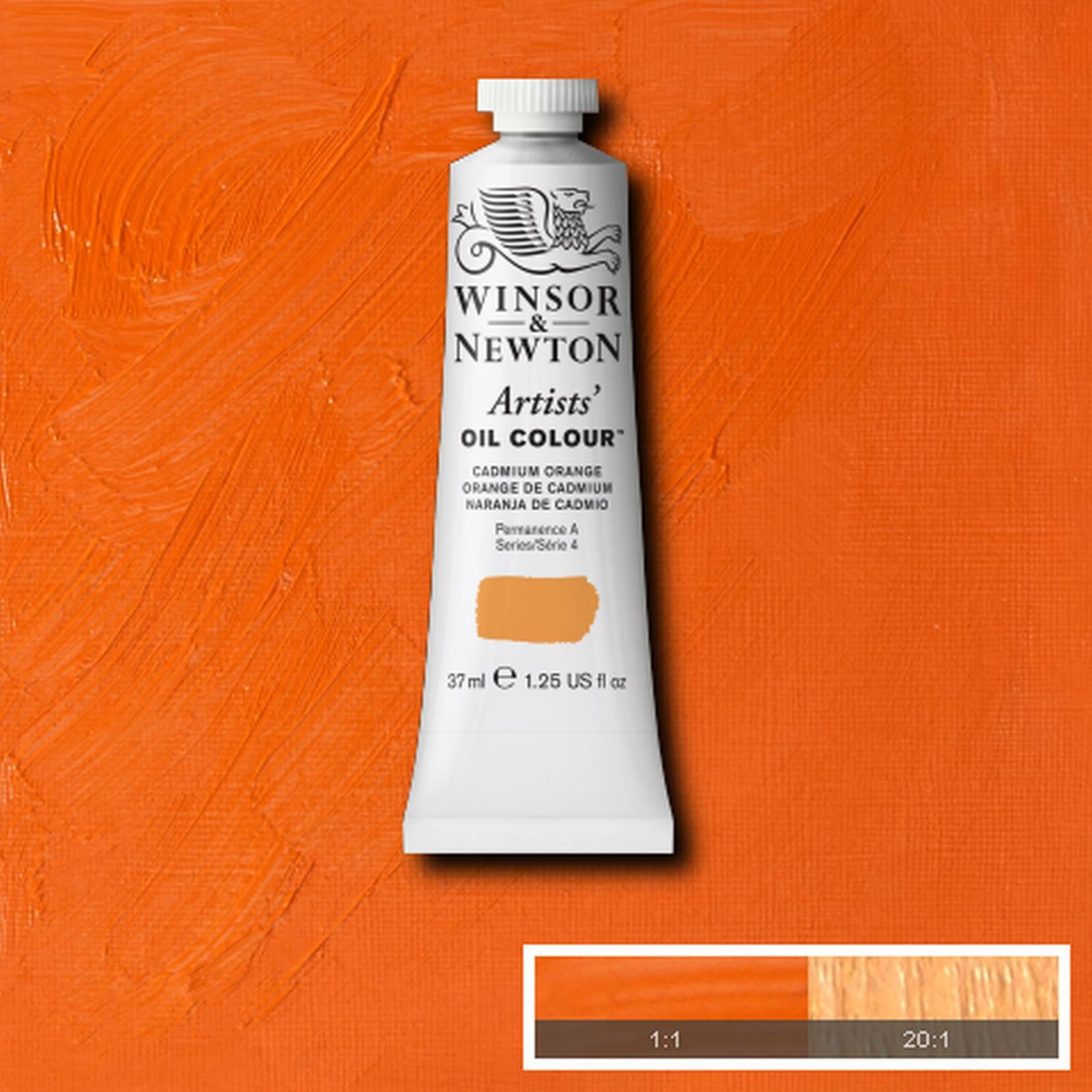 Artists Oil Colour Cadmium Orange