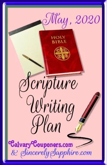 Pin on Faith -Scripture Writing