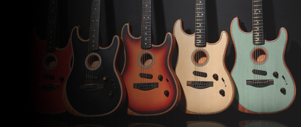 American Acoustasonic® Stratocaster® Acoustic Electric