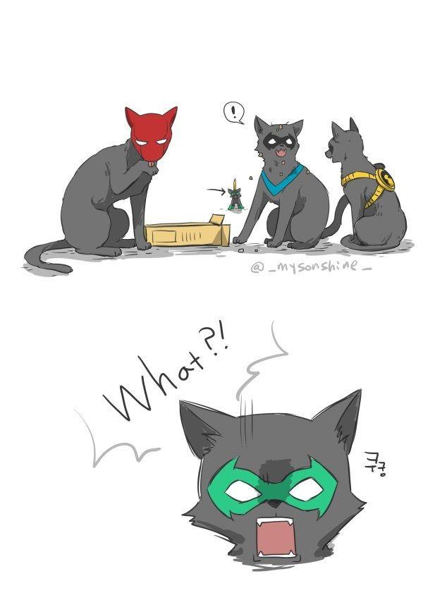نتیجه تصویری برای cat family fan art
