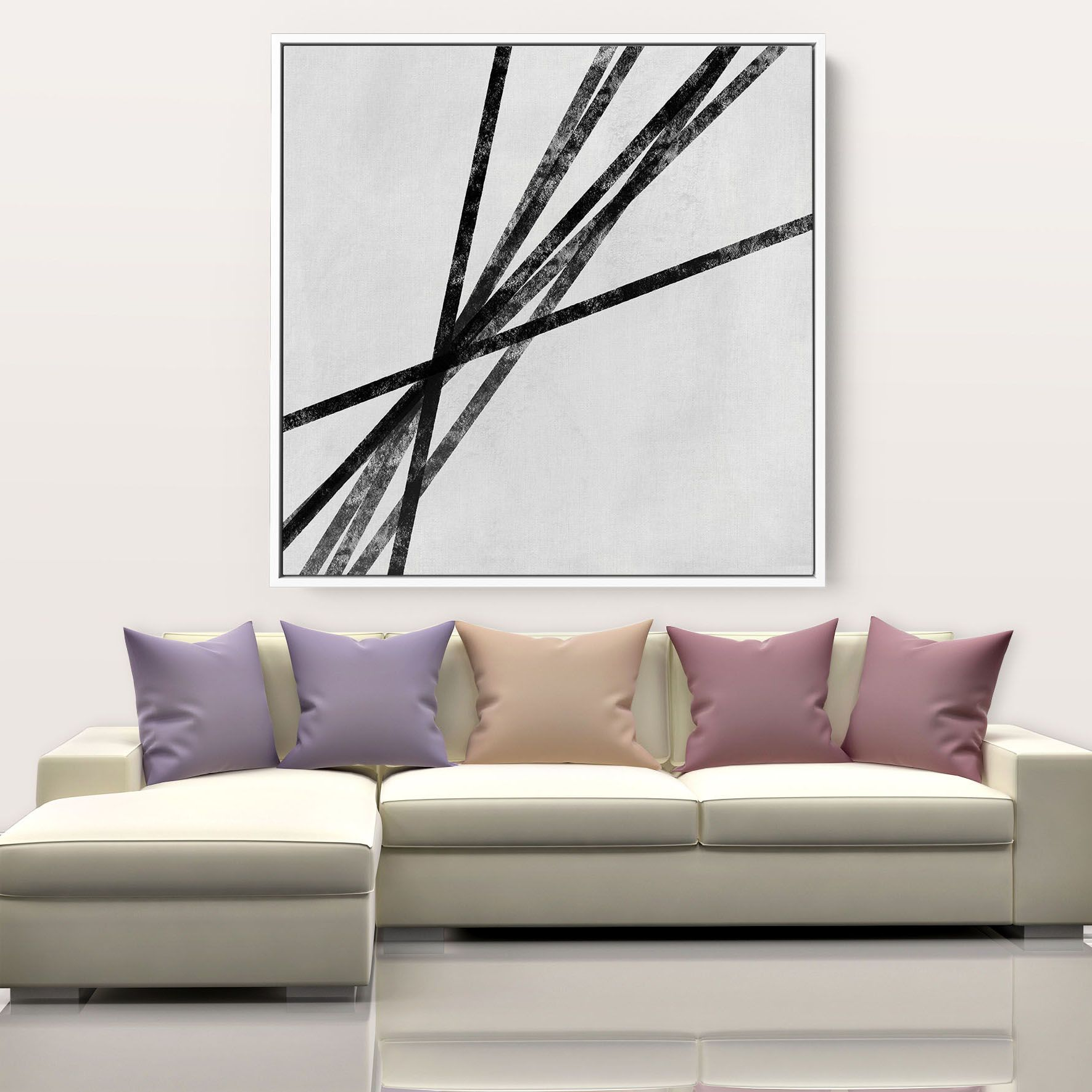 Contemporary Wall Art Abstract Painting On Canvas Original