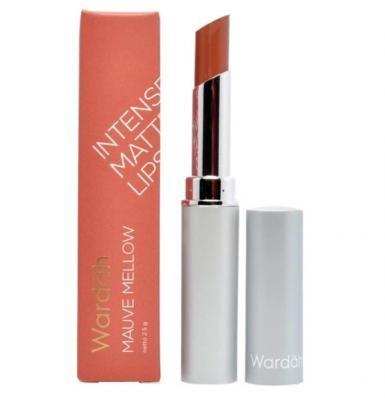 Wardah Intense Matte Lipstick Socialite Peach Lipstik Burgundy Kecantikan