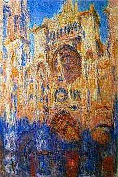 cathédrales de monet   ... de Rouen effet-soleil-17h30-18h Musée Marmottan -Monet Paris