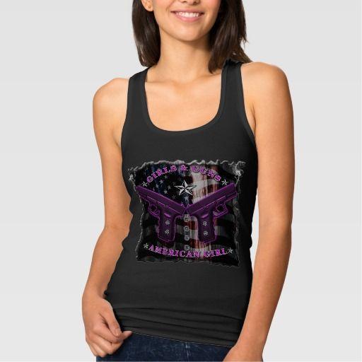 American Girls love guns and diamonds Tees #redneck_apparel #country_girl #hunter #guns #weapons #handgun_bling