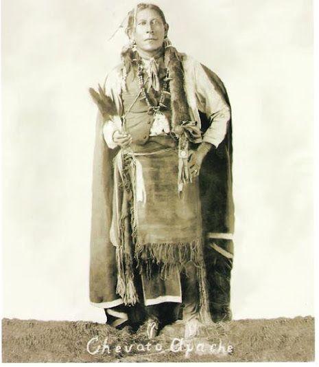 """Chevato (aka Chebahtah) The Son Of Shabete (Lipan Apache"