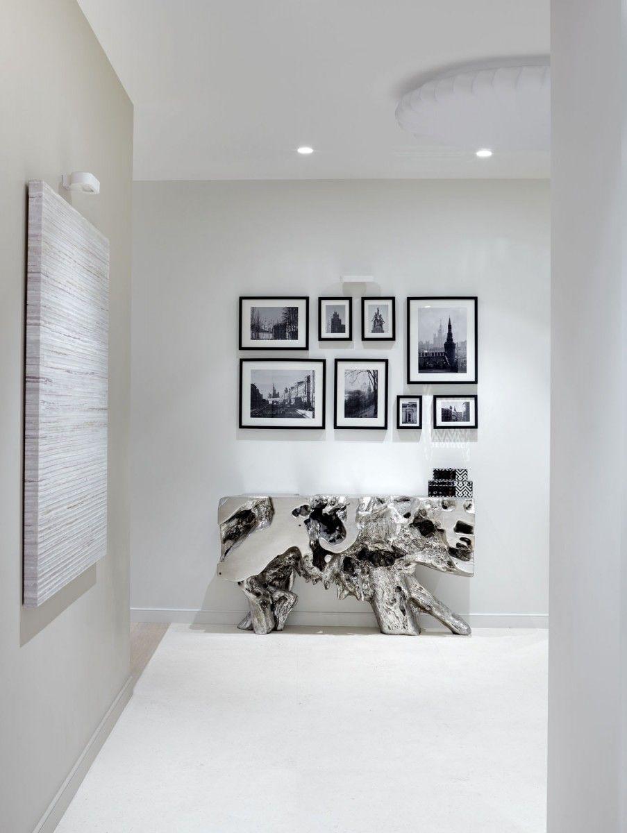 O interior do apartamento 250 m. Na rua Alexander Nevsky, gabinete de arquitectos Alexandra Fedorova