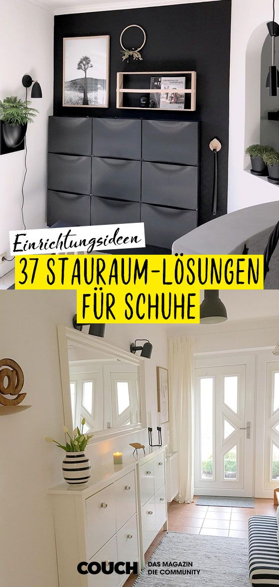 Schuhschrank: Finde deine Stauraum-Lösung!