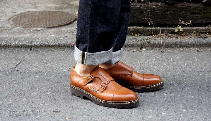 9243566f4b8 Get your Monk Strap on. Paraboot William.