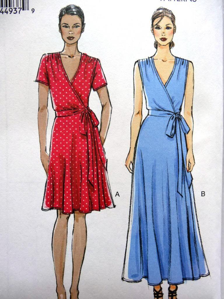 Vogue V8896 Misses Women Mock Wrap Dress 2 Lengths Sewing Pattern Plus Size 8 24 Wrap Dress Sewing Patterns Dress Patterns Uk Wrap Dress Pattern [ 1024 x 768 Pixel ]