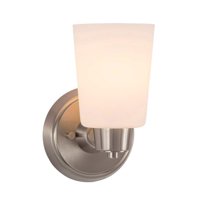 Photo of Park Harbor PHVL2001ORB Oil Rubbed Bronze Windsor Gate Single Light 5-3/8″ Wide Bathroom Sconce with Frosted Glass Shade – LightingDirect.com