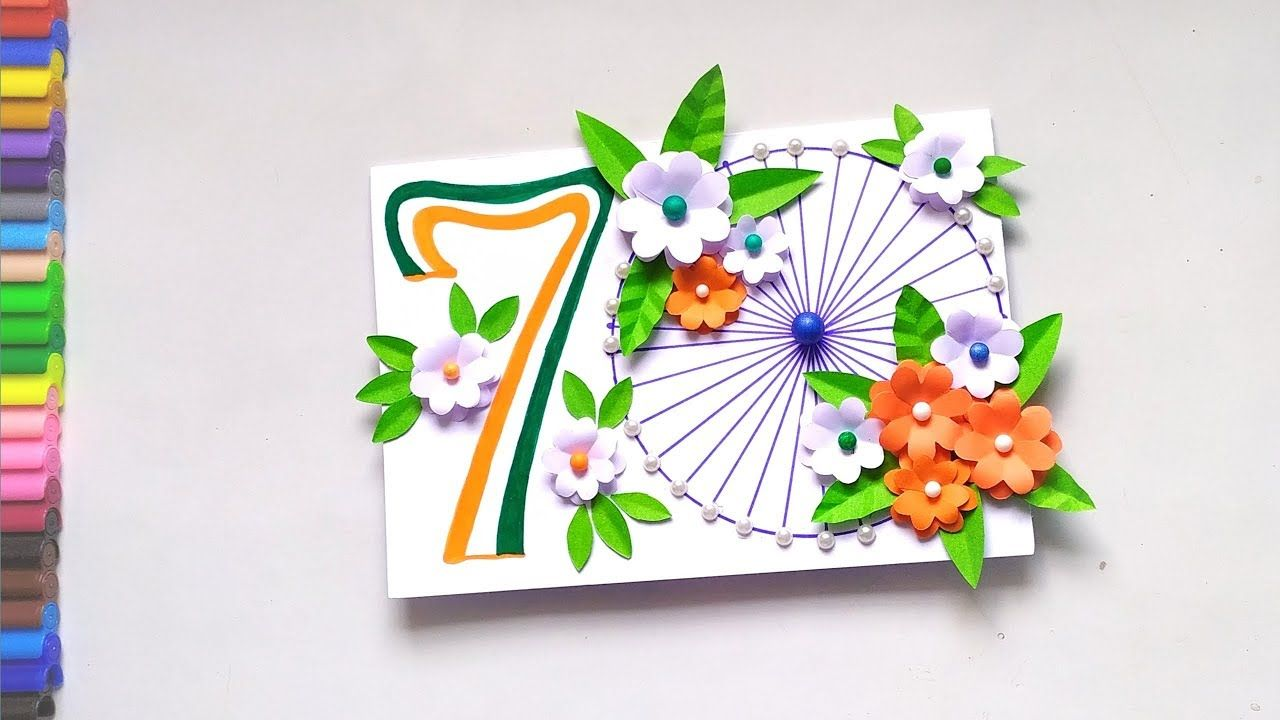 Republic Day Card Handmade Greeting Card For 70th Republic Day Pop Greeting Cards Handmade Handmade Greetings Greeting Card Craft
