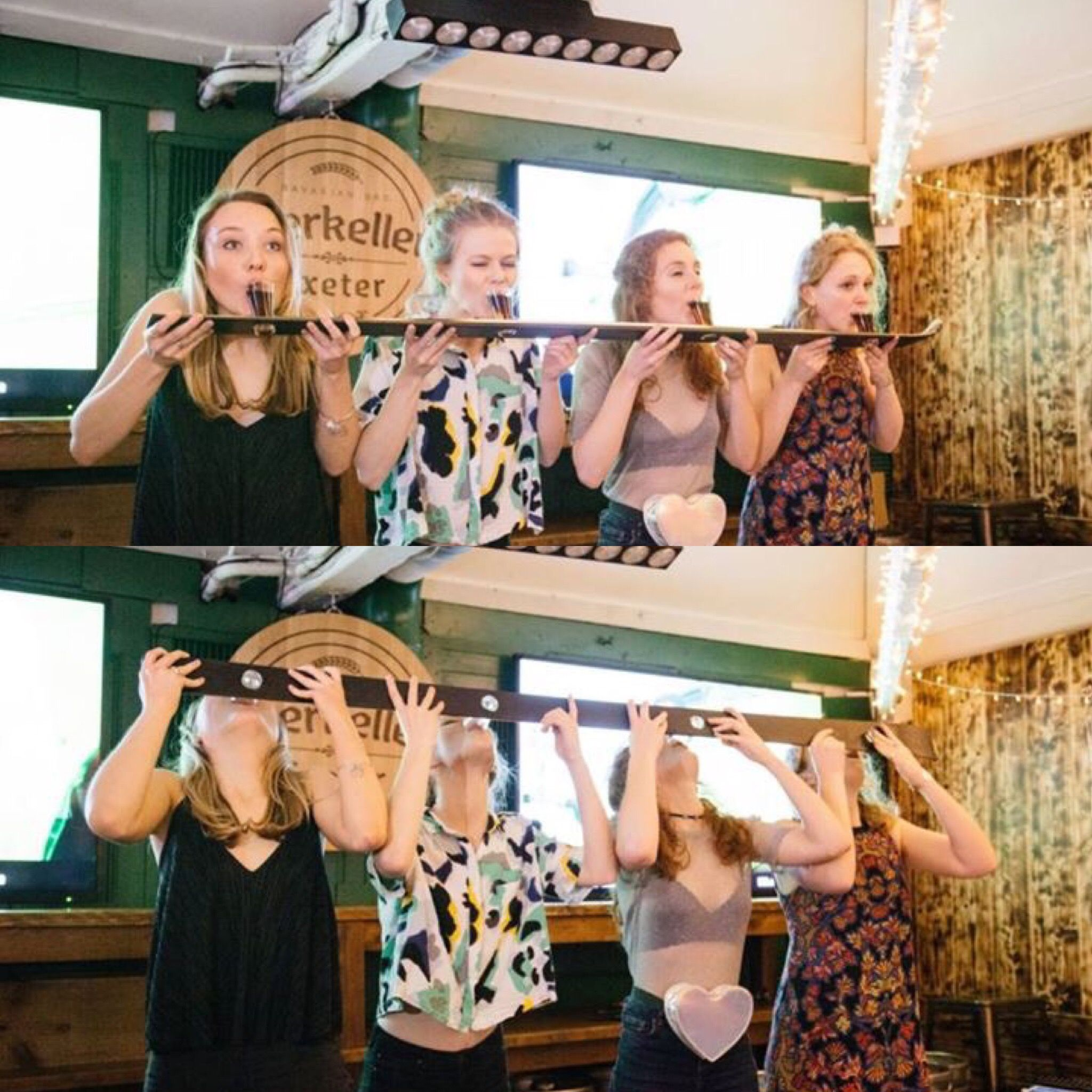 Shot Club's shotski    the perfect student drinking game
