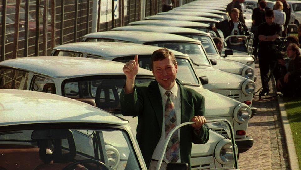 DDR-Autos: die letzten Trabis werden verkauft