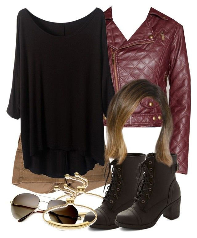 Malia Inspired Outfit with Requested Jacket by veterization on Polyvore featuring Bar III, Isabel Marant and Monica Vinader