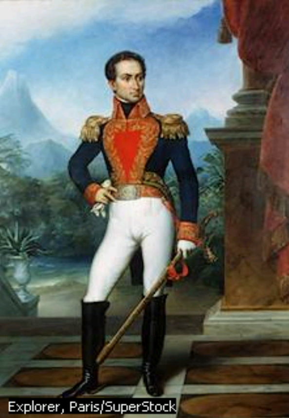 simon bolivar day  Simn Bolvar  better known as The Liberator