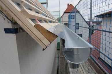 Dach Tag 5 und 6 Dachkonstruktion, Anbau gartenhaus und