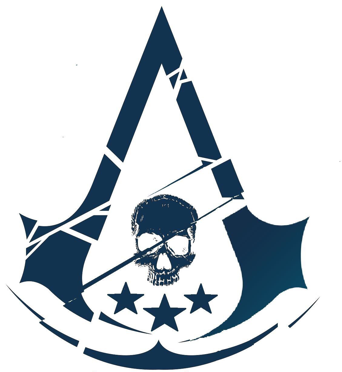 Assassins Creed Merged Logos Assassins Creed Artwork Assassins Creed Art Assassins Creed Tattoo