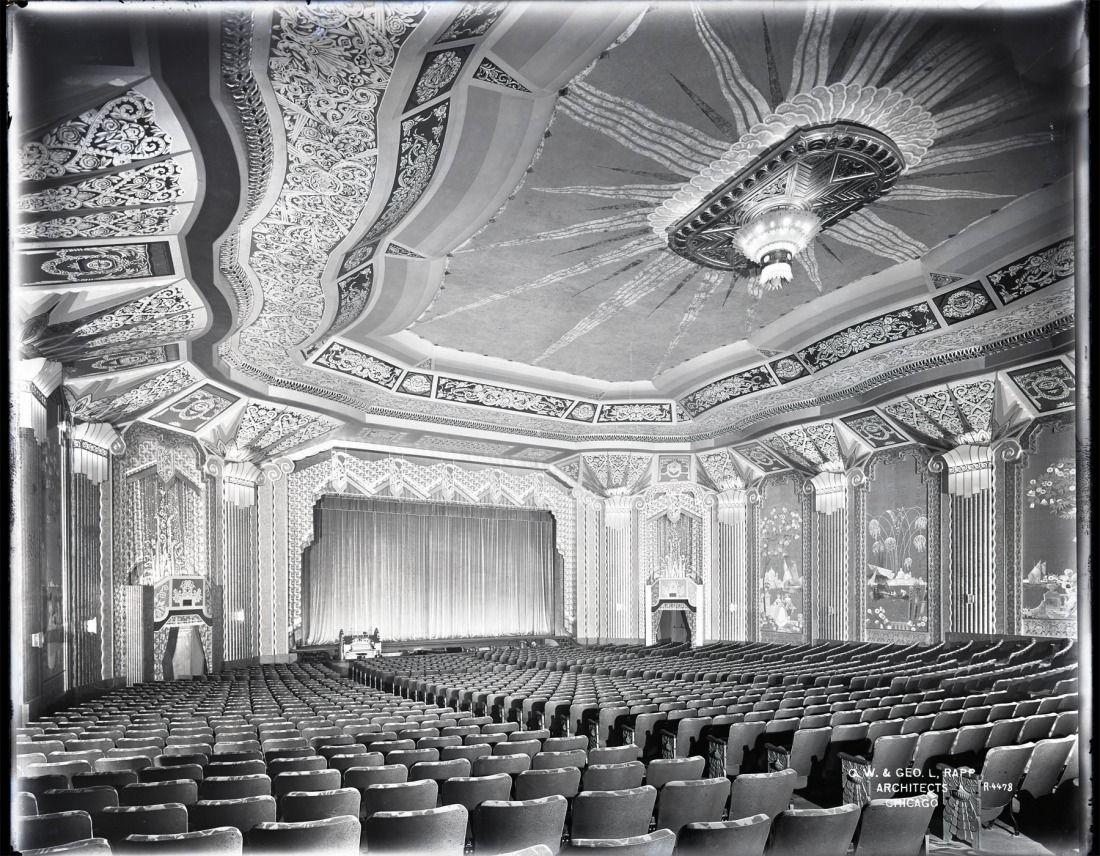Paramount Theatre Aurora Il Capc The Theatre Historical Society Of America Archive City Of Aurora Historic Theater Theatre Life