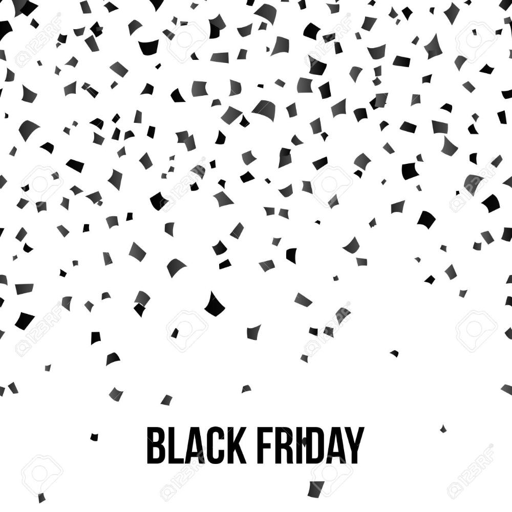 Pin By Manon Van Den Hurk On Inspiratie Black Confetti White Background Black Friday
