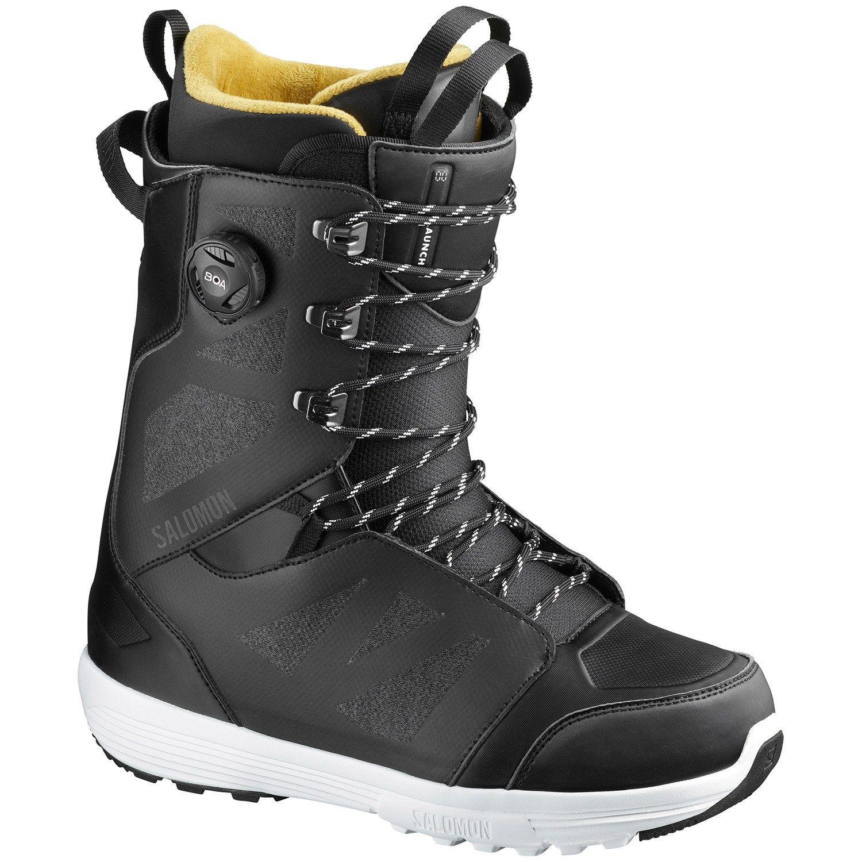 Salomon Launch Lace Boa Sj Snowboard Boots 2020 Boots Snowboard Snowboarding Gear