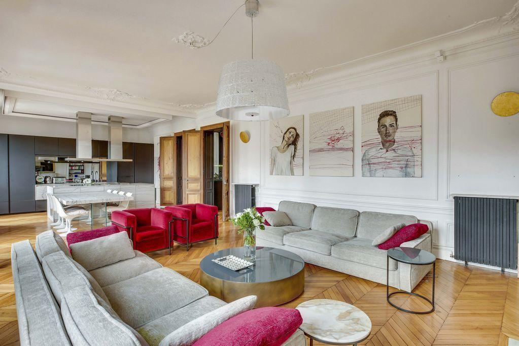 Otthonos, modern nappali Minimál lakás design Modern