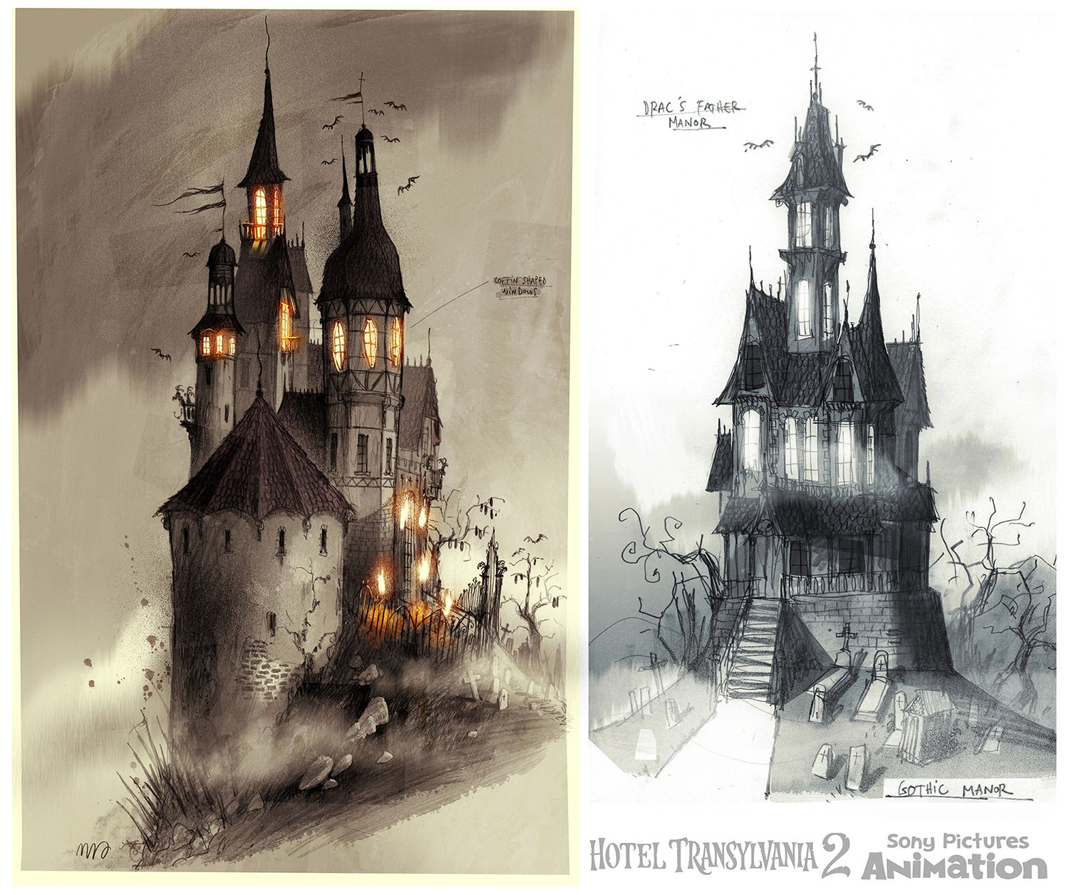 Pin Taelyn Gore Art Castle Illustration Gothic