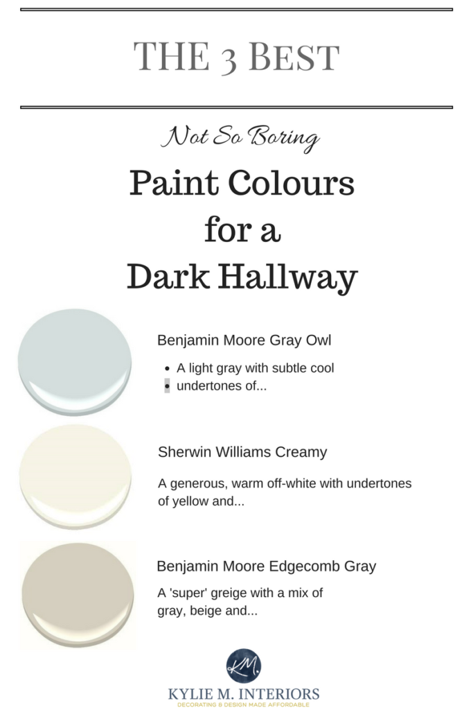 Best The 3 Best Not Boring Paint Colours To Brighten Up A Dark 400 x 300