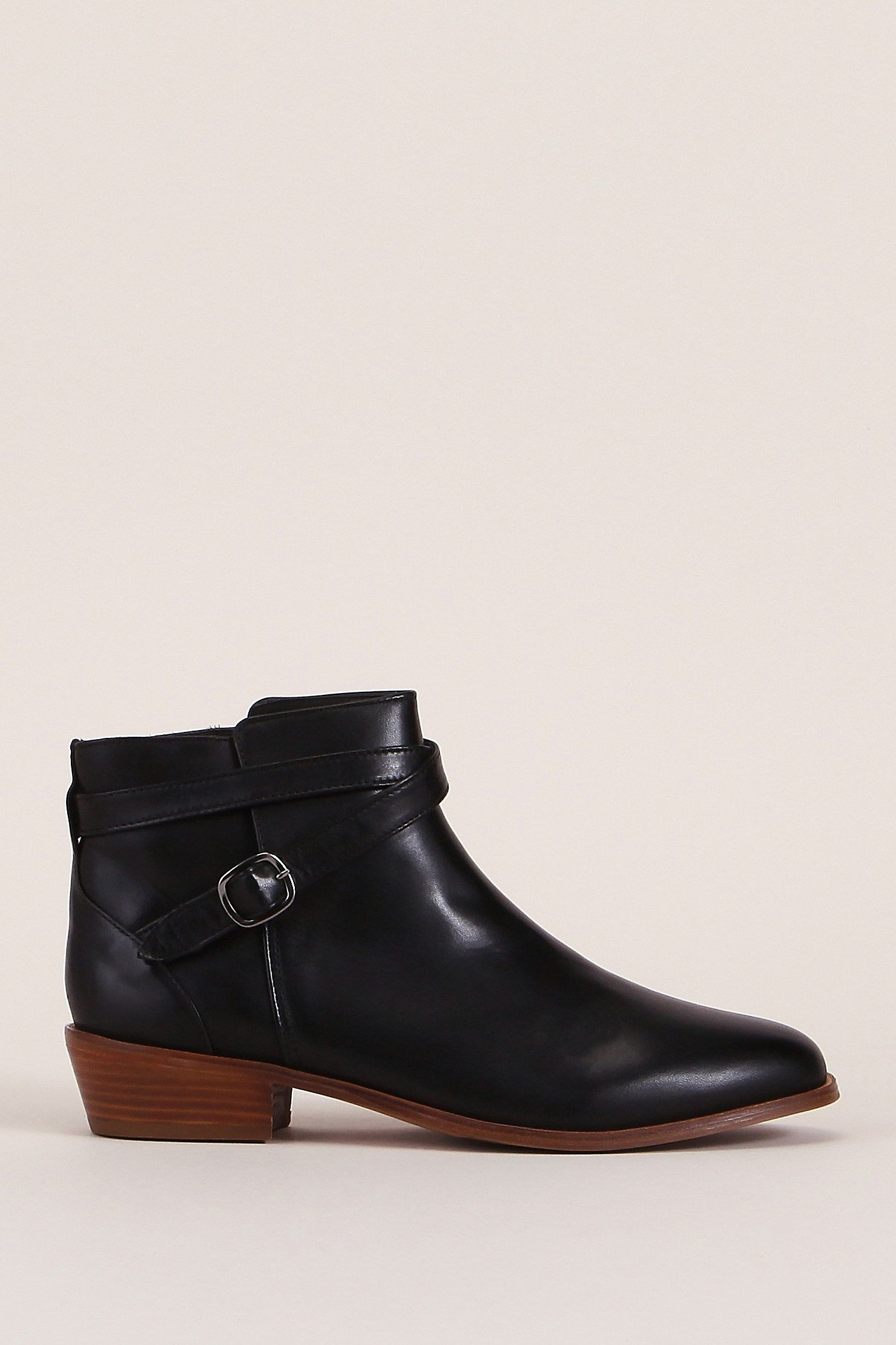 Bottines cuir noir l héroine zoom   Shoes   Pinterest   Bottines ... 868f5dc46793