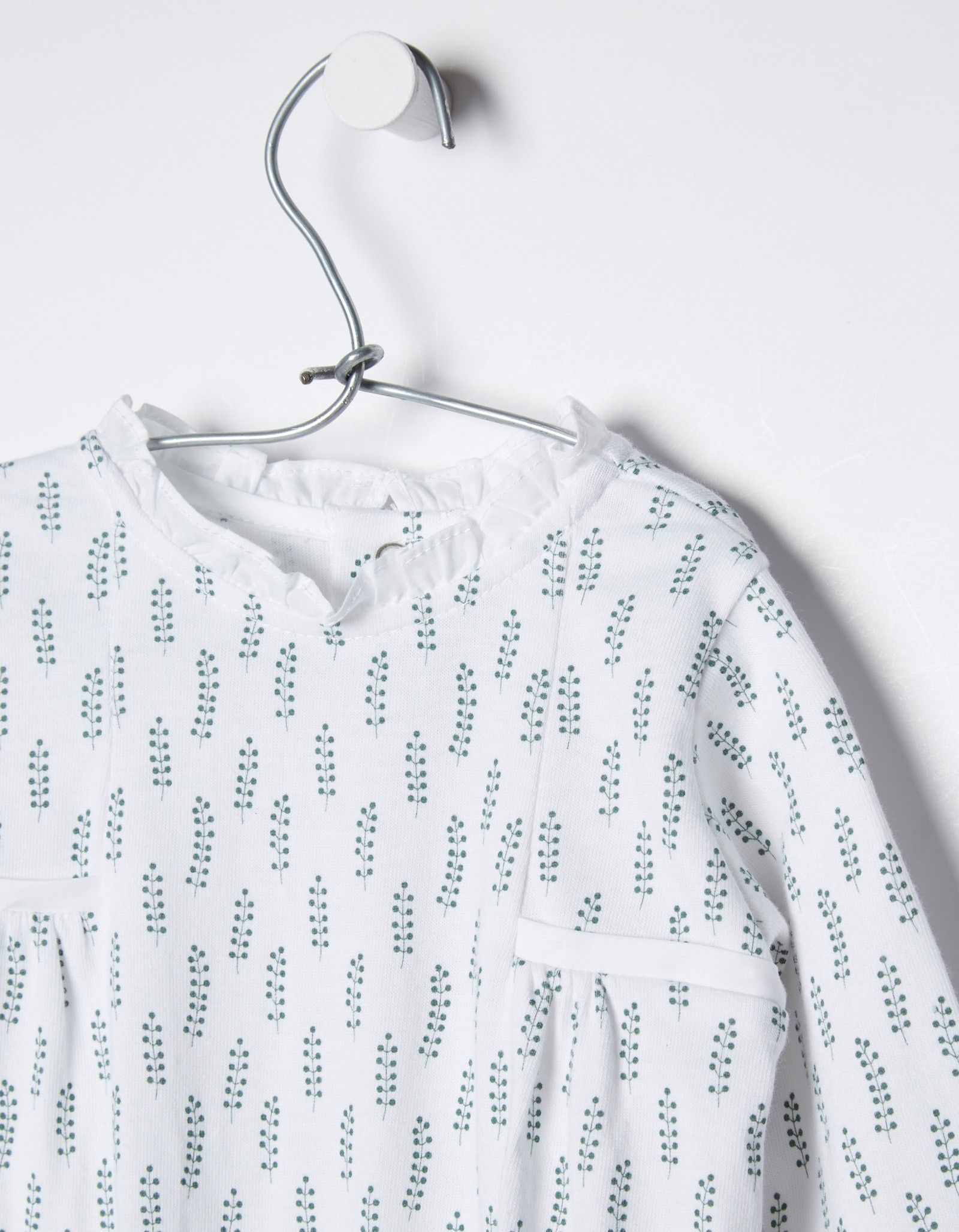 NECK & NECK | GREEN BABY PYJAMAS - OUTLET
