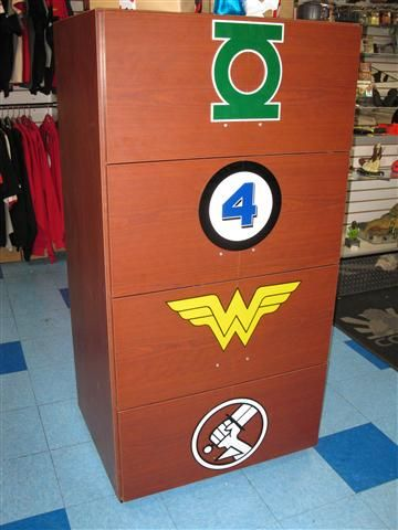 Comic Book Storage and Tombs - Handsome Boy Designs & Handsome Boy Designs specializes in custom comic book storage ...