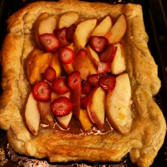 Rustic Apple Berry Galette