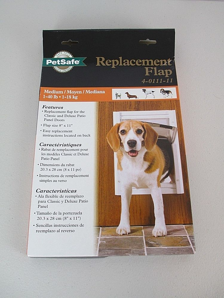 Petsafe Replacement Flap 8 X 11 4 0111 11 Used In Box Petsafe