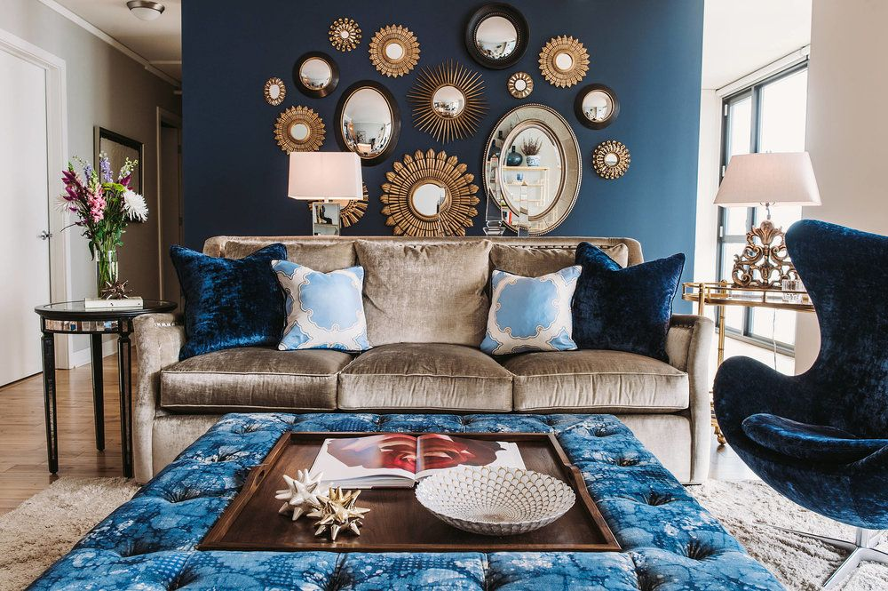 How To Turn Up The Glamour At Home: Add A Mirror Wall