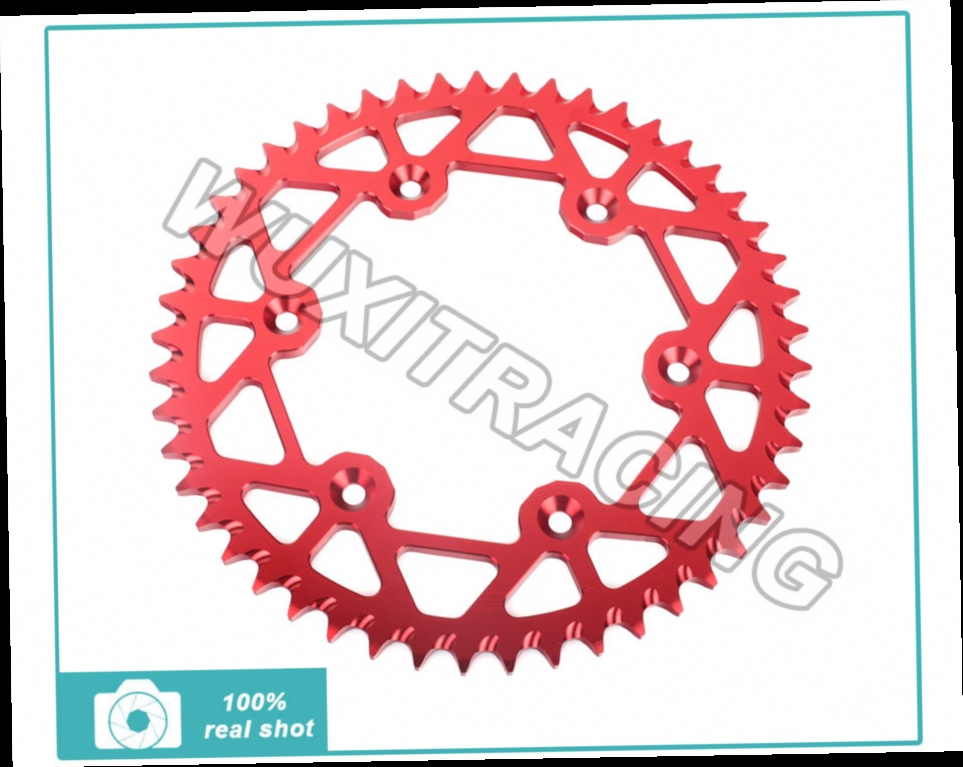 53.36$  Watch here - http://alijqh.worldwells.pw/go.php?t=1879236194 - High Performance ALU 520 46T 47T 48T 49T 50T 51T 52T 51 teeth Rear Sprockets For HONDA CR 125 CR 250 CB 500 CR 500 250