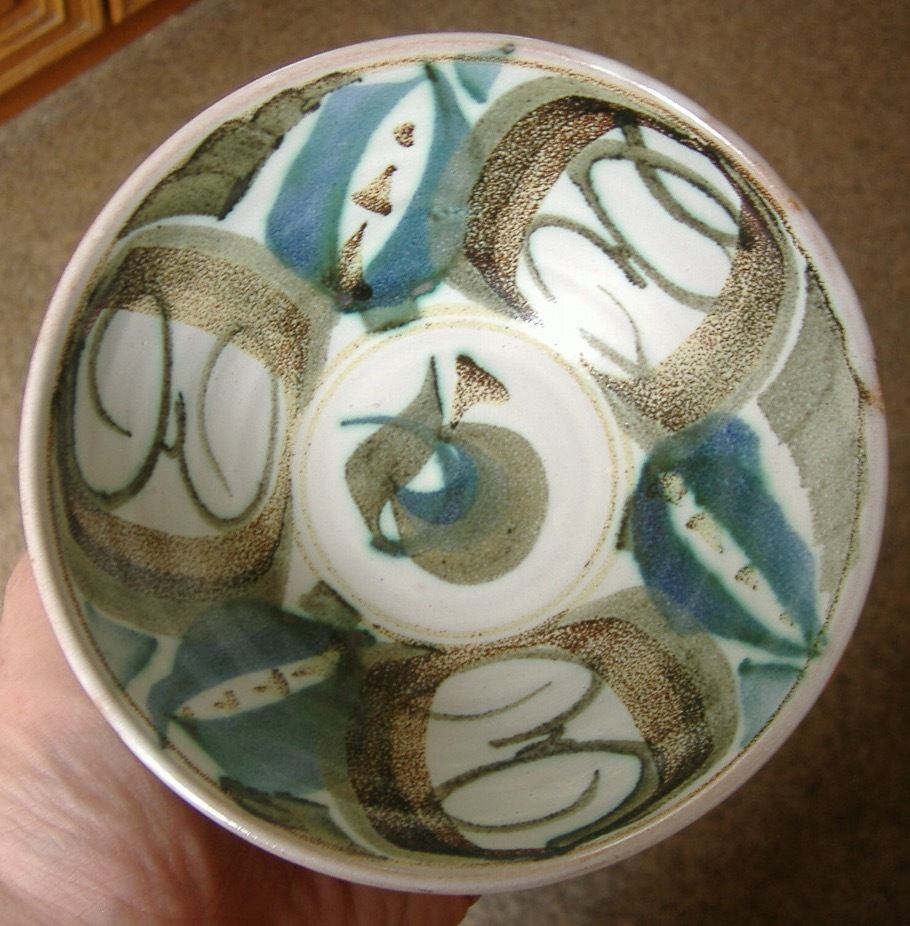 Beautiful Aldermaston Studio Pottery Bowl by Miranda Thomas : thomas pottery dinnerware - pezcame.com