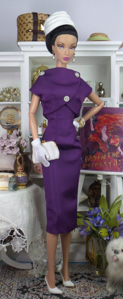 Beaujolais for Silkstone Barbie and Victoire by MatisseFashions