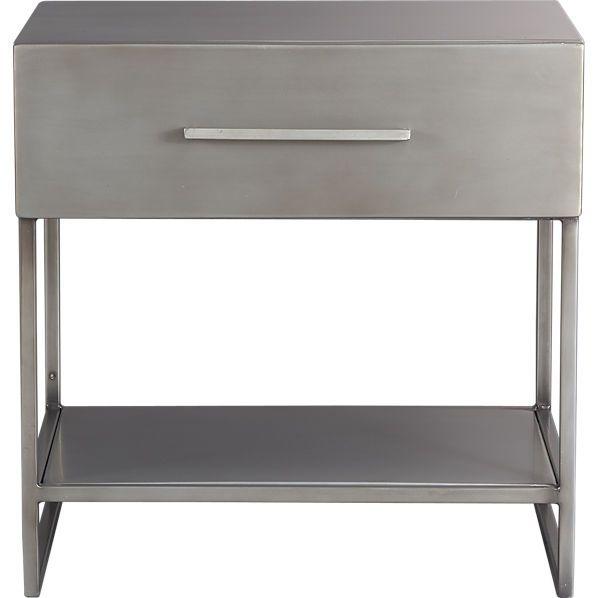 Best Proof Nightstand Industrial Metal Industrial And Metals 400 x 300