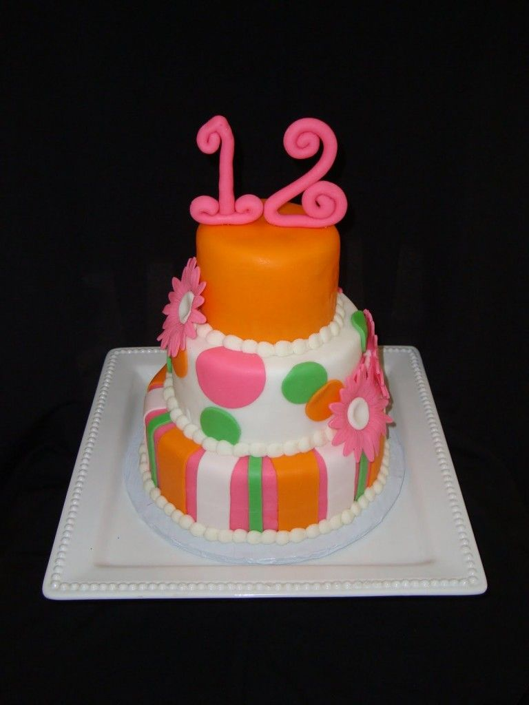 Design Birthday Cake For Girls 12th Wallpapers Foods Pinterest