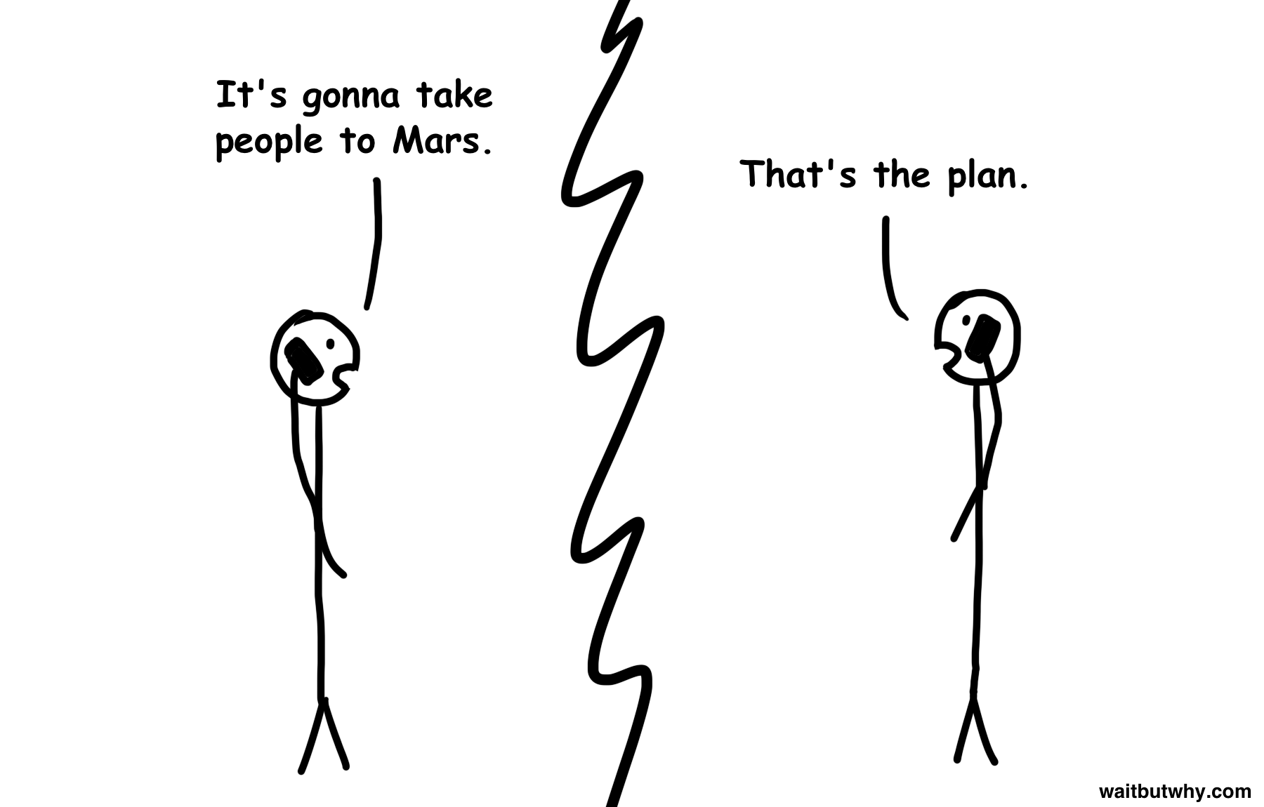 The full story behind SpaceX's big rocket, and future trips to Mars.