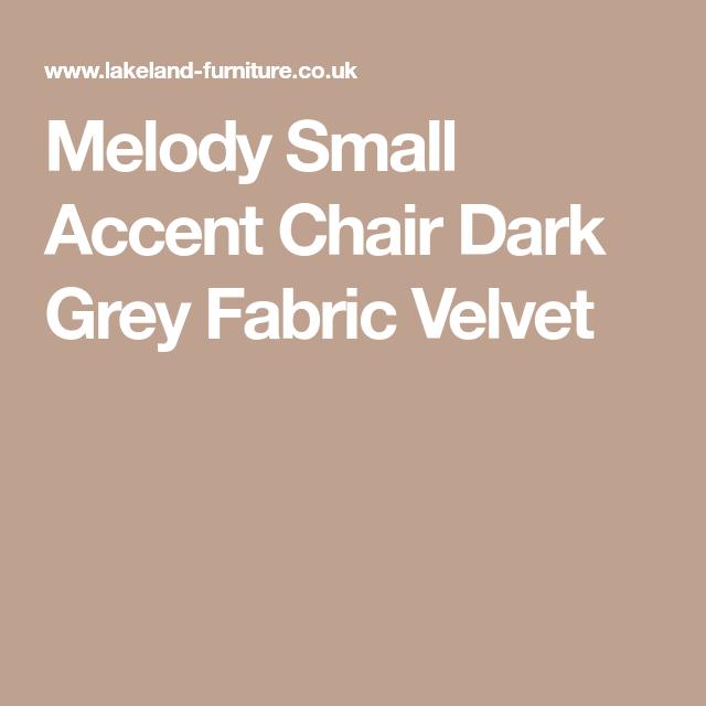 Brilliant Melody Small Accent Chair Dark Grey Velvet Study Small Machost Co Dining Chair Design Ideas Machostcouk