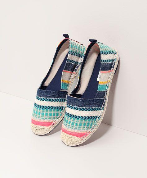 información para cbdae e089c Oysho - Espardeña multicolor | Alpargatas | Shoes ...
