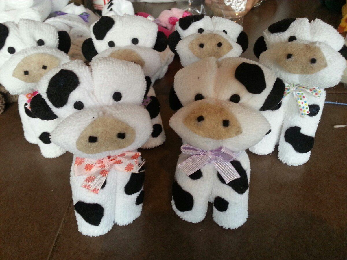 Piegare Gli Asciugamani A Forma Di Animale : Toallas con formas para regalos recuerdos cumpleanos bautizo