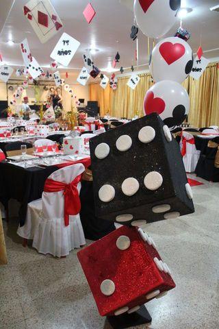 Fiesta Tematica De Casino