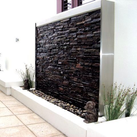 Clean morn water feature